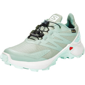 Salomon Supercross Blast GTX Chaussures Femme, green milieu/lunar rock/icy morn
